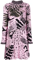 Temperley London printed midi dress