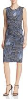 Nic+Zoe Tile Print Twist Front Dress - 100% Exclusive