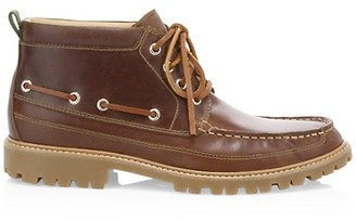 Sperry Gold Cup Leather Chukka Ankle Boots