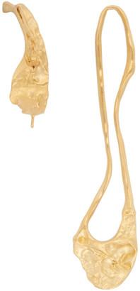 1064 STUDIO Gold Curvilinear Archives 31 Earrings