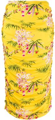Kenzo Sea Lily midi skirt