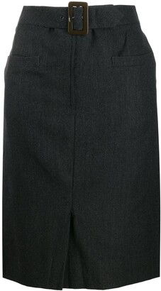 Salvatore Ferragamo Pre-Owned '1990s Pencil Skirt