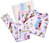 Pippa Books To Bed Little Girl's Bloom 3-Piece Cotton Pajama & Book Set