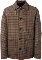 Ami Alexandre Mattiussi buttoned jacket patch pockets