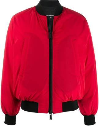 DSQUARED2 ICON padded bomber jacket