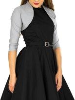 Black Butterfly Clothing BlackButterfly Tailored 3/4 Sleeve Bolero (, US)