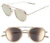 Salt Women's 50Mm Polarized Round Sunglasses - Rose Gold/ Rose