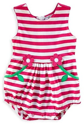 Florence Eiseman Baby Girl's For The Fun Of It Striped Bubble Romper