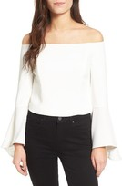 Bardot Women's Solange Off The Shoulder Top