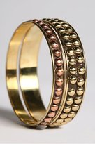 Set of 2 Mid Studded Bangles