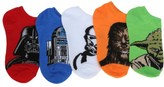 Highpoint 5 Pack Youth Star Wars No Show Socks