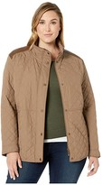 Lauren Ralph Lauren Plus Size Short Quilt Jacket (Bridle) Women's Coat