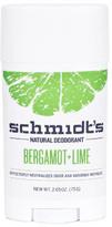 Schmidt's Stick Deodorant - Bergamot & Lime