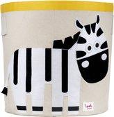 3 Sprouts Organic Storage Bin, Zebra