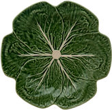 One Kings Lane Cabbage Dinner Plate, Green