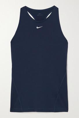 Nike Pro Mesh Tank - Midnight blue