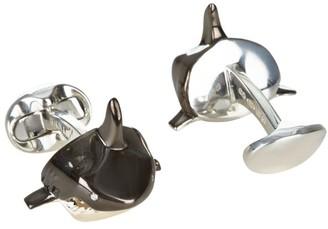 Deakin & Francis Shark Head Cufflinks
