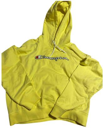 Champion Yellow Cotton Knitwear