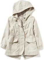 Old Navy Hooded Twill Anorak for Toddler