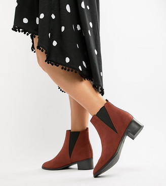 New Look Wide Fit Chelsea Boot