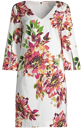 Trina Turk Sandcastle Floral Shift Dress
