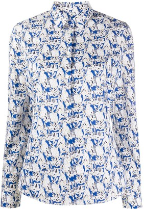 Paul Smith Bunny Print Shirt