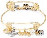 RJ Graziano C Initial Charm Bracelet