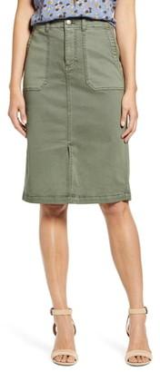 Caslon Twill Cargo Skirt