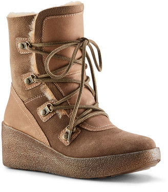Cougar Dylan Suede Shearling Winter Boots