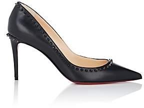 Christian Louboutin Women's Anjalina Leather Pumps - Black, Black gun