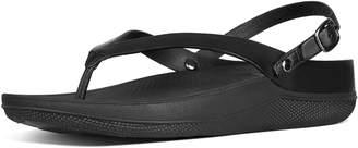 FitFlop Flip Leather Back-Strap Sandals