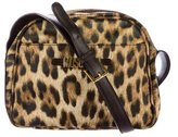 Moschino Leopard-Printed Crossbody Bag