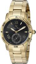 Lucien Piccard Women's Misty Rose 40031-YG-11 Gold-Tone/ Stainless Steel Watch