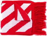 Off-White Diagonals and Arrows scarf - unisex - Polyacrylic - One Size