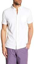 Ben Sherman Mock-Polo Short Sleeve Slim Fit Shirt