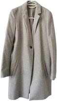 Samsoe & Samsoe Grey Wool Coat for Women