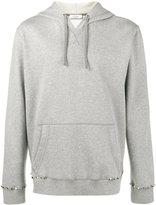 Valentino pyramid stud hoodie - men - Cotton/Polyamide - M