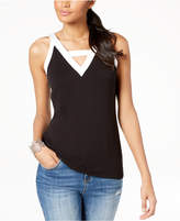 INC International Concepts I.N.C. Colorblocked Tank Top, Created for Macy's
