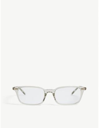 Oliver Peoples Roel rectangle frame sunglasses