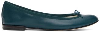 Repetto Green Cendrillon Ballerina Flats