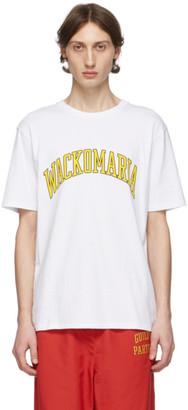 Wacko Maria White Logo T-Shirt