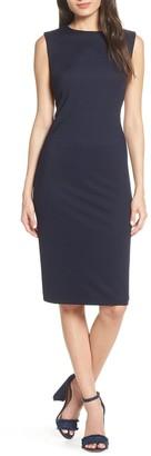 NSR Olya Rib Sheath Dress