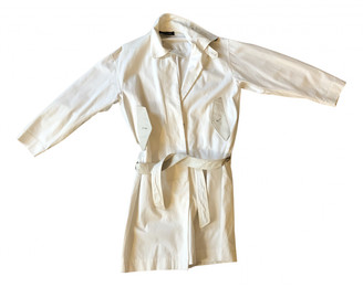 Damir Doma White Cotton Trench coats
