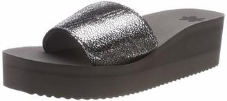 Flip*Flop Women's Pool Wedge Cracked Sandals