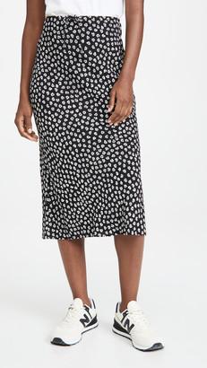 Madewell Pull On Midi Skirt