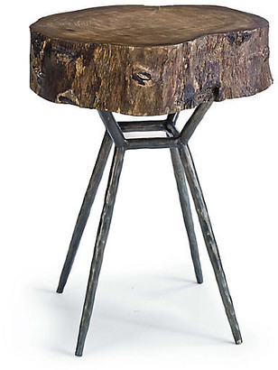 REGINA ANDREW Cosmo Wood Side Table - Ebony