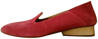 Paul Andrew Pink Suede Flats