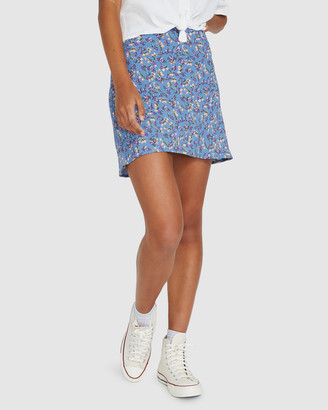 Insight Joan Floral Slip Skirt