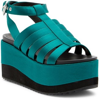 Shellys Evelyn Platform Sandal