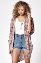 La Hearts Cocoon Kimono